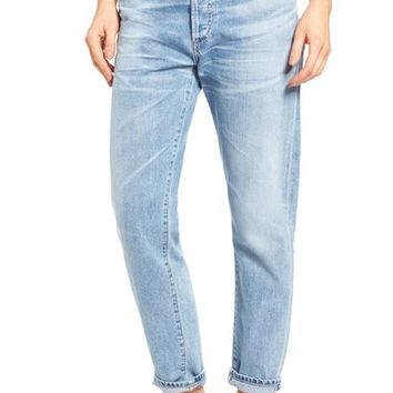 Citizens of Humanity Liya High Waist Boyfriend Jeans (Sunday Morning) | Nordstrom