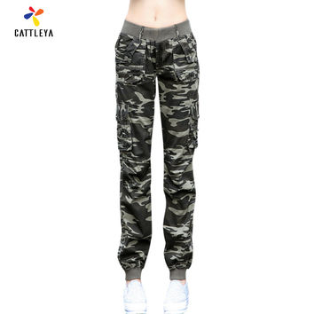 Women's Camouflage Baggy pants