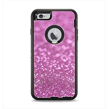 The Pink Unfocused Glimmer Apple iPhone 6 Plus Otterbox Defender Case Skin Set