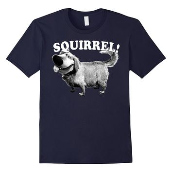 Disney Pixar Up Dug Squirrel Graphic T-Shirt