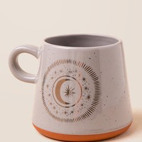 Oversized Speckled Moon Mug