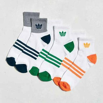adidas Originals Cushion Quarter Sock 3-Pack