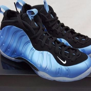 "Nike Air Foamposite One ""University Blue"" 314996-402 Size 7.5 Penny Jordan"