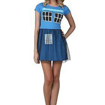 Doctor Who Tardis Ballerina Dress