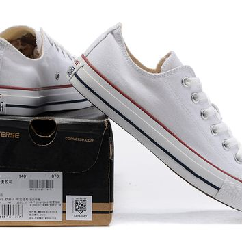 Converse Men's And Women's Classic Chuck Taylor All Star Ox Low Top Sneakers - Ready Stock