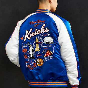 Starter X UO NBA New York Knicks Souvenir Jacket - Urban Outfitters