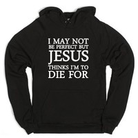 To Die For-Unisex Black Hoodie