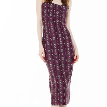 farrah dress plum hudson stripe
