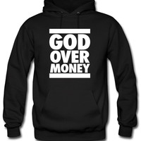 God Over Money d Hoodie