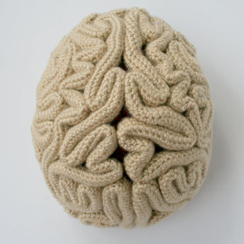 The Brain Beanie Crochet Pattern Instructions