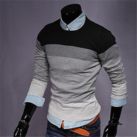Men's Casual Fashion Slim Knit Sweater