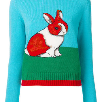 Gucci Embroidered Bunny Sweater - Farfetch