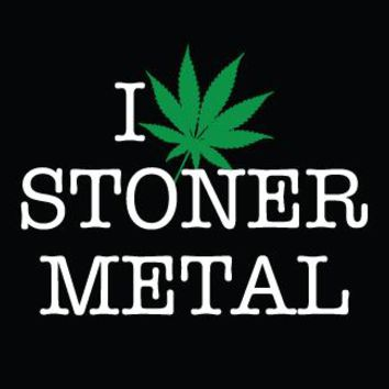 Metal Cloth Patch - I Weed Stoner Metal