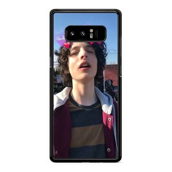Finn Wolfhard Love Samsung Galaxy Note 8 Case