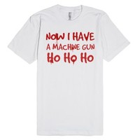 Bruce Willis Die Hard Ho Ho Ho Now I Have A Machine Gun Christmas Q...