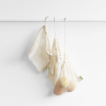Reuseable Fresh Produce Bags | Mini pack of 3