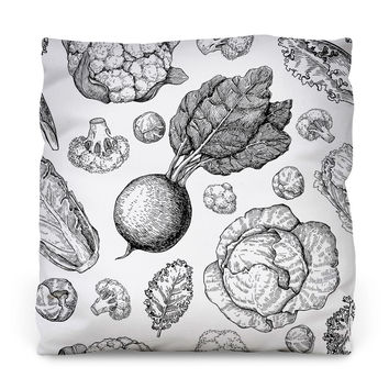 From the Ground Throw Pillow