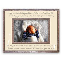 Ben's Garden 'May You Touch Dragonflies' Frame - White