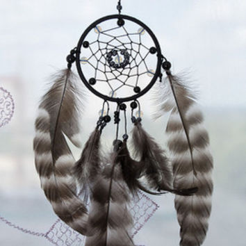 Black Car Dream Catcher Dreamcatchers Mini dreamcatcher accessories Decor Small dream catchers Gift  Bohemian Boho
