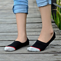 Womens Mens Casual Sports Patchwork Ankle Socks (5 PCS)