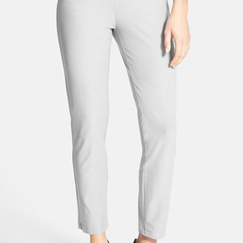 Women's Eileen Fisher Stretch Crepe Ankle Pants (Online Only)