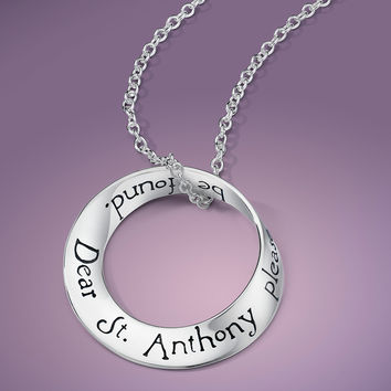 St. Anthony Sterling Silver