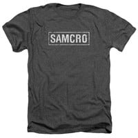 Sons of Anarchy Samcro Charcoal Heathered Duo-Blend T-Shirt