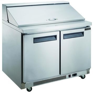 Commercial 2 Door Sandwich / Salad Prep Table 60""