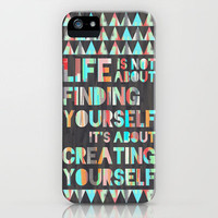 Create Yourself iPhone Case by Jacqueline Maldonado | Society6
