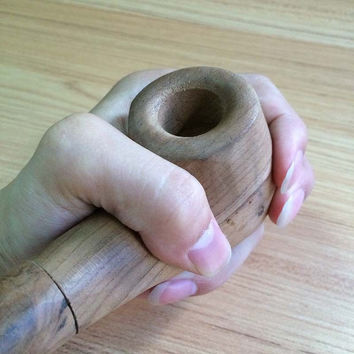 Creative Classic Handmade Wooden Pipes Smok Smoking Pipe Tobacco Pipe Smoking Accessories Mouthpiece