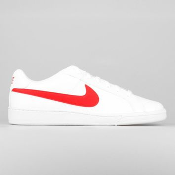 AUGUAU Nike Court Royale White University Red