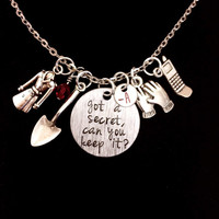 Got A Secret, Can You Keep It? A Inspired Little Liars Charm Necklace