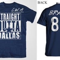DALLAS, DALLAS COWBOY Shirt , Straight Outta, Dez Bryant