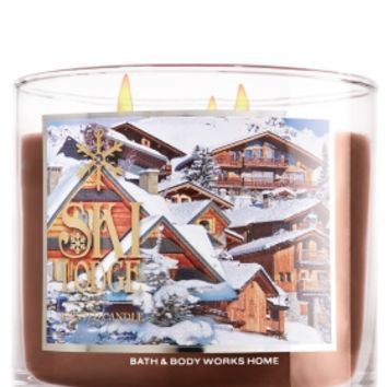 3-Wick Candle Ski Lodge