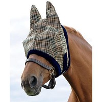 Kensington Fly Mask with Ears & Trim | Dover Saddlery