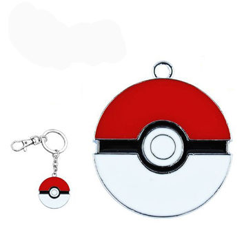 Pocket Monster Pokemon Poke Ball Master Ball Love Ball Fast Ball Keychain Keyring Pendant Ash Ketchum
