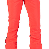 Volcom Battle Stretch Womens Snowboard Pant - Firecracker