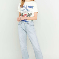Urban Renewal Vintage Customised Cropped Levis Jeans - Urban Outfitters