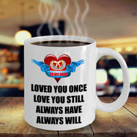 Still and Always Love My Wife Color Changing & White Coffee Mug Gift For Husband Him Men Women Dad Father Mother Grandfather Boyfriend