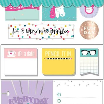 The Happy Planner Sticker MultiPk, Super Fun