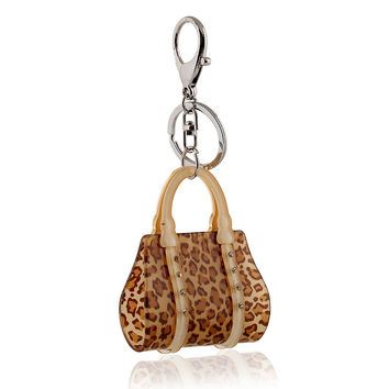 Gift New Arrival Hot Sale Trendy Great Deal Functional High Quality Stylish Acrylic Leopard Diamonds Korean Fashion Creative Gifts Keychain [6056726721]