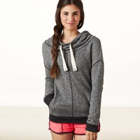 AEO Performance Funnel Neck Sweatshirt | American Eagle Outfitters