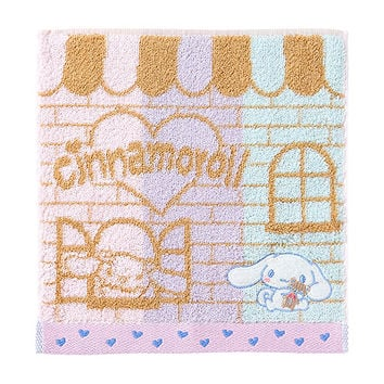 Buy Sanrio Cinnamoroll Striped Petite Towel with Applique at ARTBOX
