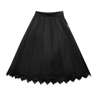 Panel Skirt With Zig Zag Hem by Vika Gazinskaya - Moda Operandi