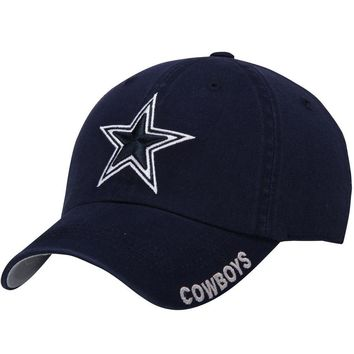Dallas Cowboys Navy Slouch Adjustable Hat