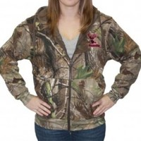 Zipper Hoodie - Realtree APG Camo with Pink Logo w/Embroidered Logo: Hunting Apparel | Hunting Clothes | Shirts | Stickers | Decals