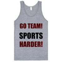 go team sports harder