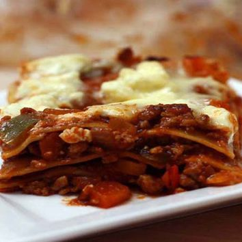 Recipes - Vegetarian Quorn Lasagne