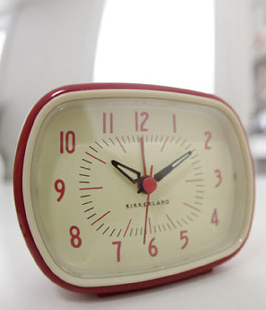 Red Retro Analog Alarm Clock from Unique Vintage | Things ...