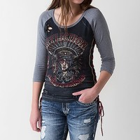 Affliction American Customs Native Girl T-Shirt